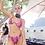 Thumbnail: Triangle Wire Bikini in Pink Snake