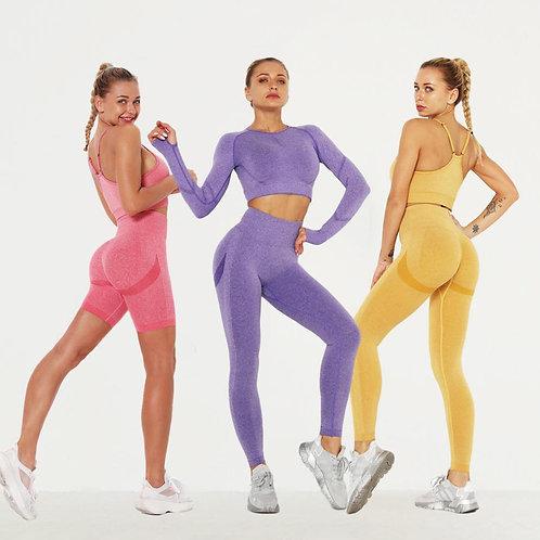 Bubble Butt Seamless Yoga Set