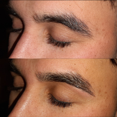 Male Brow Shaping