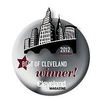 2012 Best of Cleveland Winner Logo