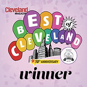 2015 Best of Cleveland Winner Logo