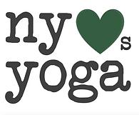 NY Loves Yoga Logo