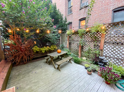 Our outdoor space