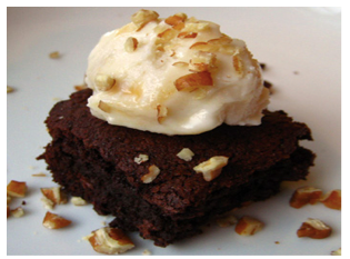 Flourless Black Beans Brownies