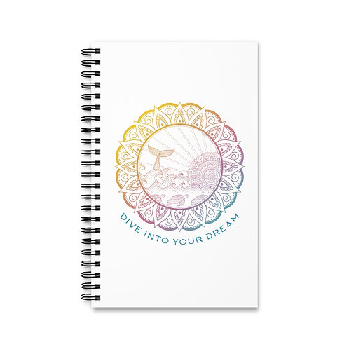 "Spiral Journal ""Dive Into Your Dreams"""
