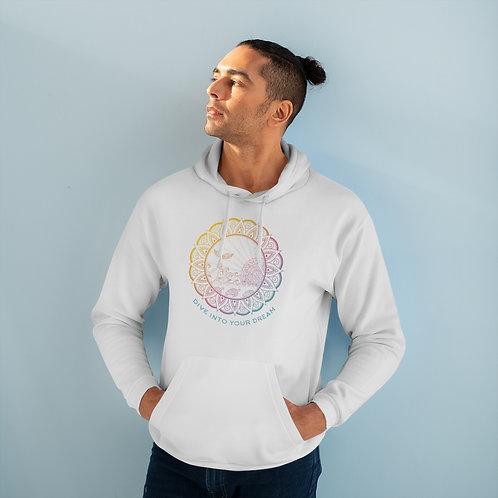 "Unisex Heavy Blend Hooded Sweatshirt  ""Dive Into Your Dreams"""