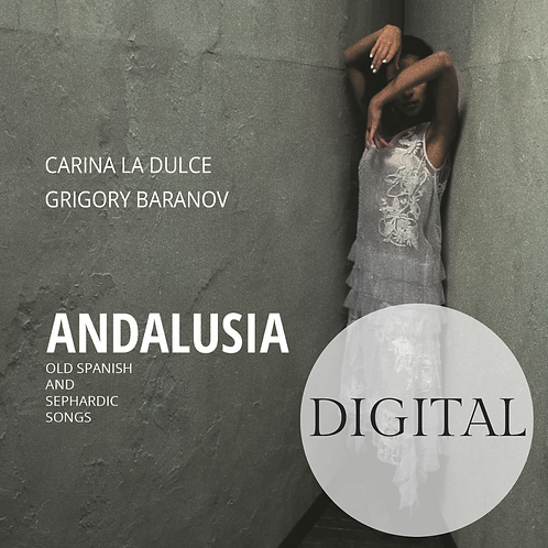 Andalusia - Old Spanish & Sephardic Songs Digital Version With ElectronicBooklet