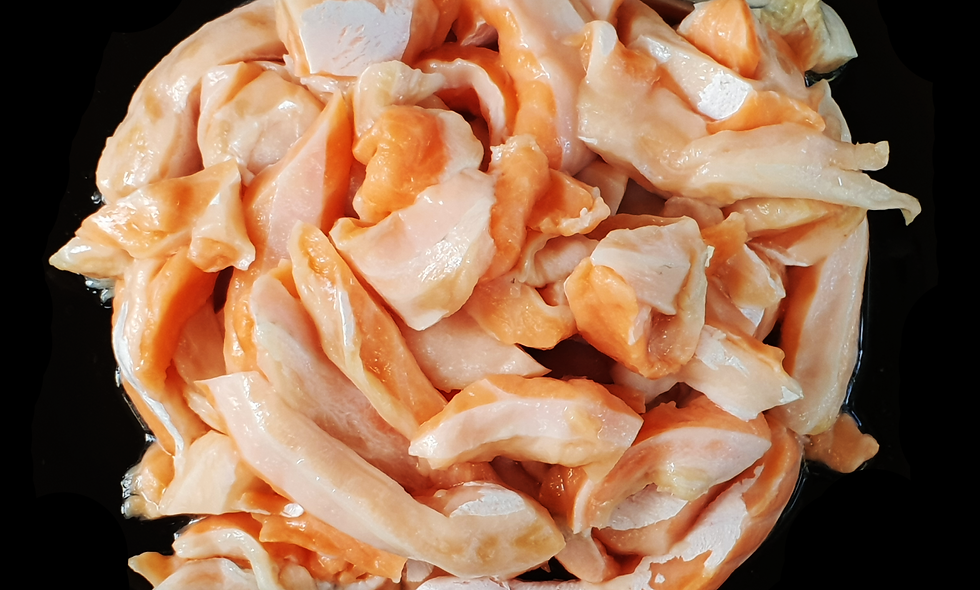 Atlantic Salmon Diced (400g)
