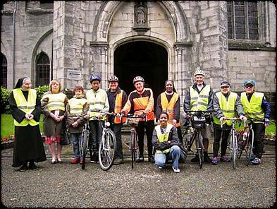 abbaye de marededret | pèlerinage Beauraing vélo | belgique | namur