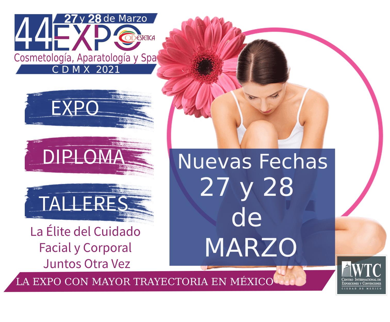 44 EXPO CODESTETICA CDMX 2021
