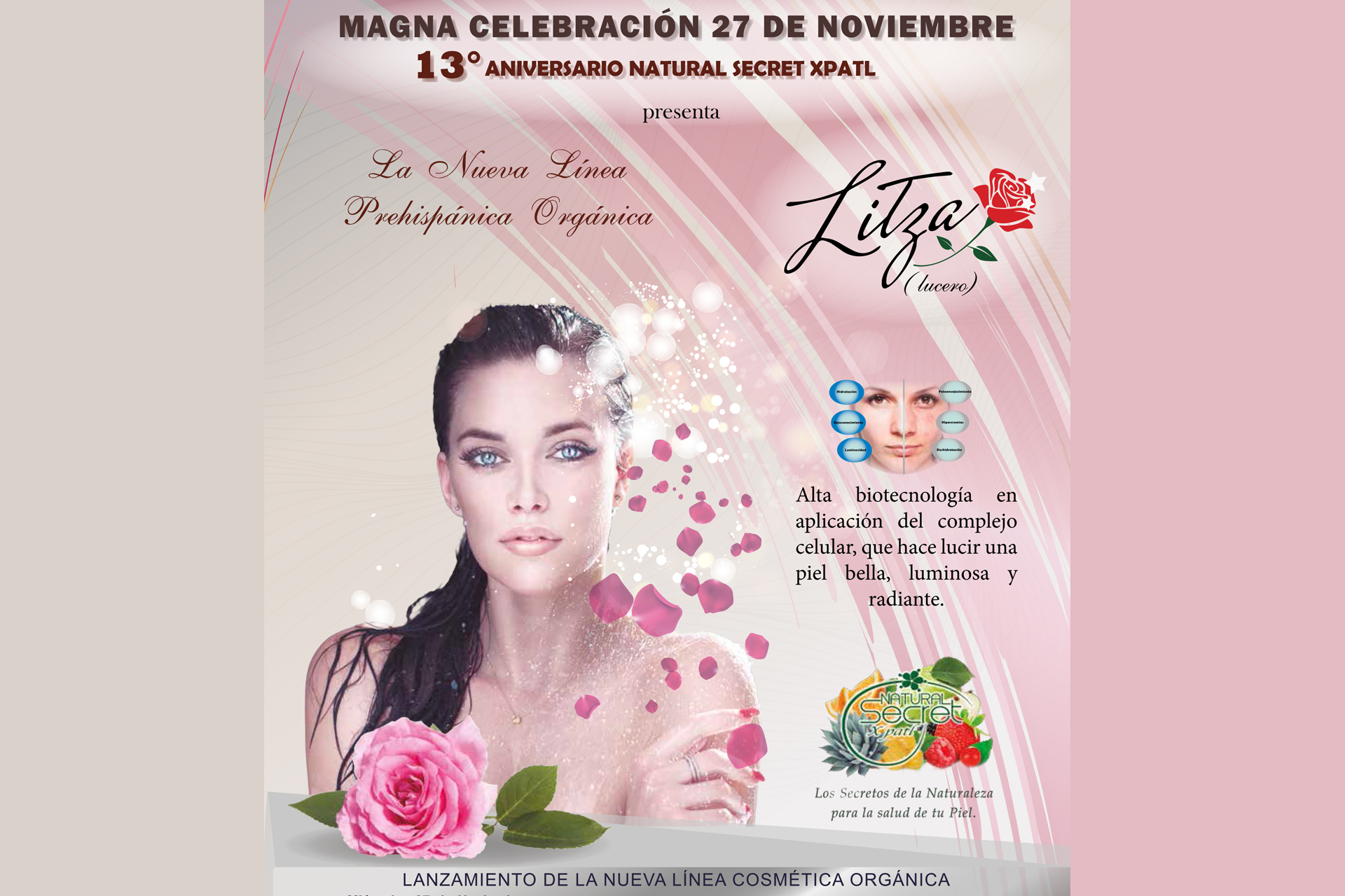 13 ANIVERSARIO NATURAL SECRET XPATL