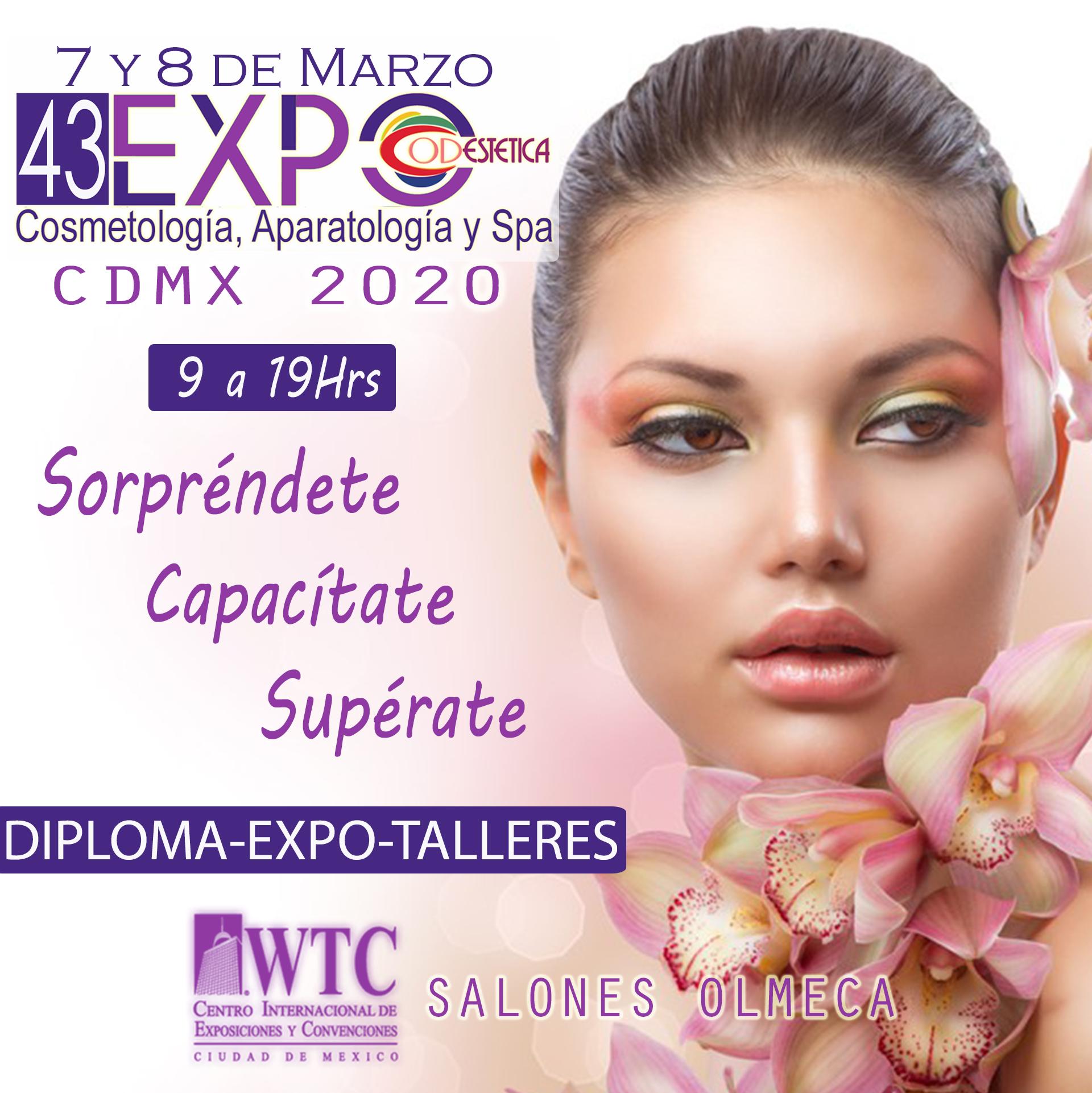 43 EXPO CODESTETICA CDMX