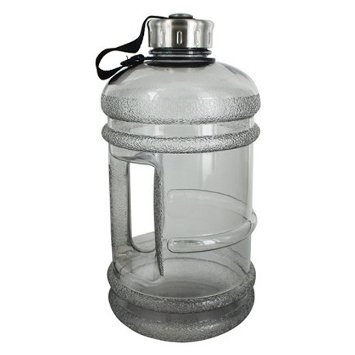 BPA Free Water Bottle with Handle Charcoal - 2.2 Liter(s) by New Wave Enviro Pro