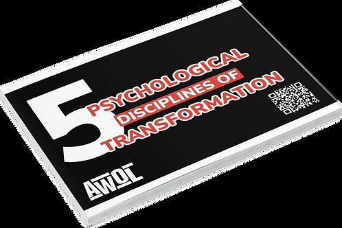 Affirmation cards 5 Psychological Disciplines Of Transformation
