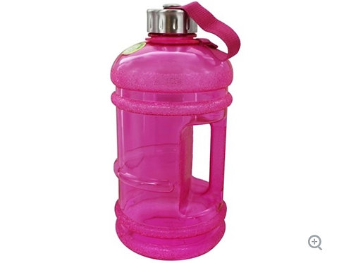BPA Free Water Bottle with Handle Pink - 2.2 Liter(s) by New Wave Enviro