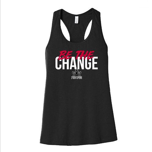 Be The Change (women's tank)