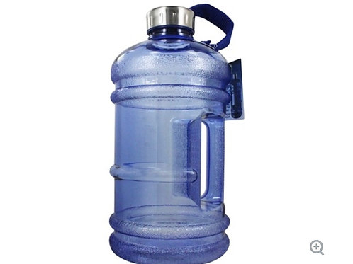BPA Free Water Bottle with Handle Blue - 2.2 Liter(s) by New Wave Enviro