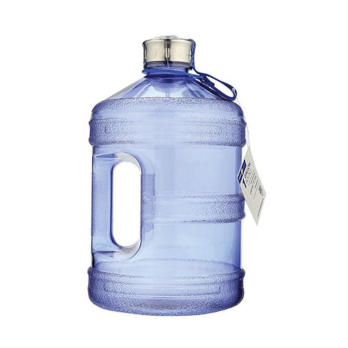 Round Reusable Bottle with Handle - 1 Gallon by New Wave Enviro Products