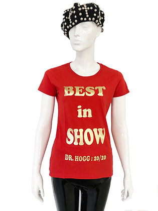 Gold Best In Show T-Shirt