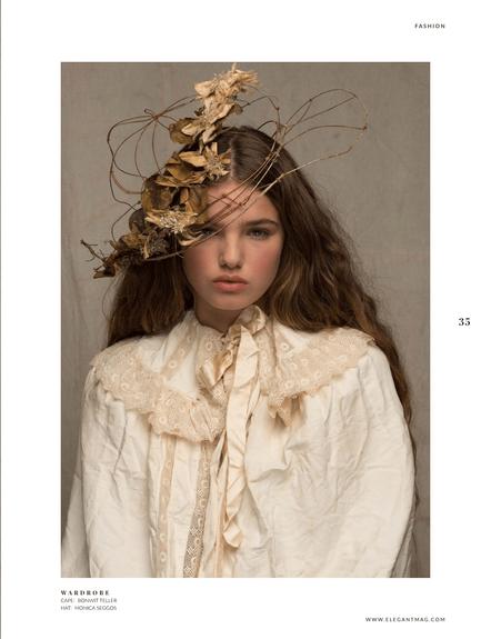Maya by TJ Manou for Elegant Magazine