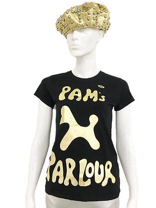 Gold Pam's Parlour T-Shirt