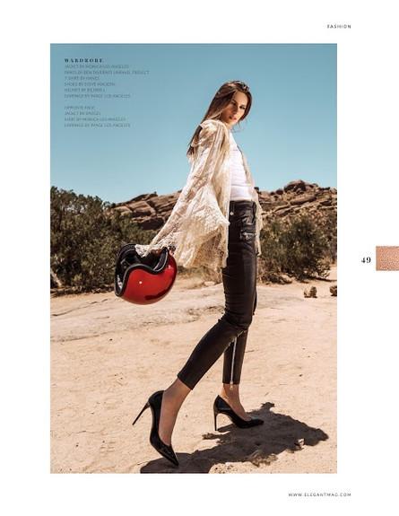 Yuliia by Stephania Campos for Elegant Magazine