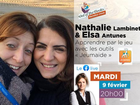 """Apprendre par le jeu avec """"Jeumaide"""" - Nathalie Lambinet & Elsa Antunes"""