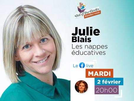 Les nappes éducatives - Julie Blais