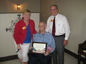 Two more Veterans honored by Hospice Care of the Southwest