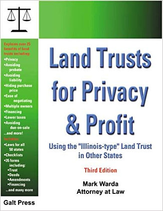 Land Trusts for Privacy and Profit