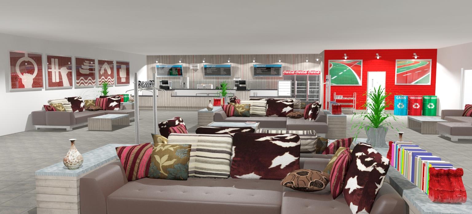 Olympics Athletes Lounge