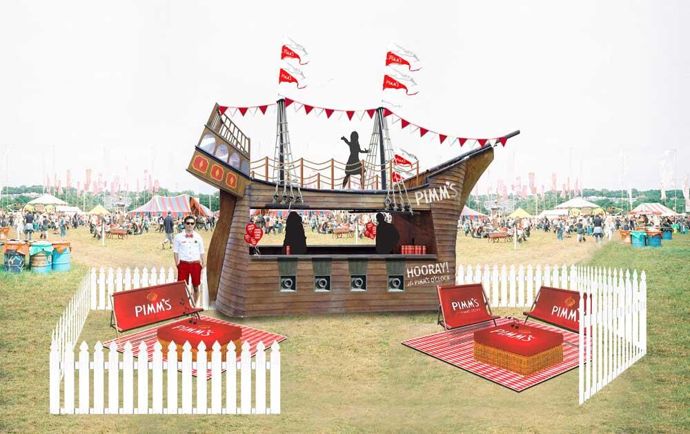 Pimm's Festival Ship