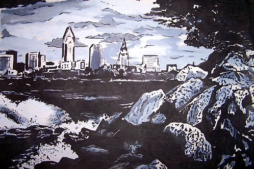 Cleveland skyline 3