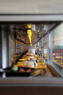 All you can eat running sushi in Graz