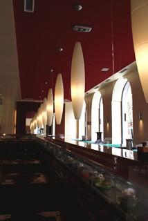 Eat Asia Restaurant mit running Sushi und all you can eat Buffet in Graz
