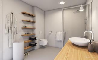 Rekonstrukce koupelny v Nížkovicích