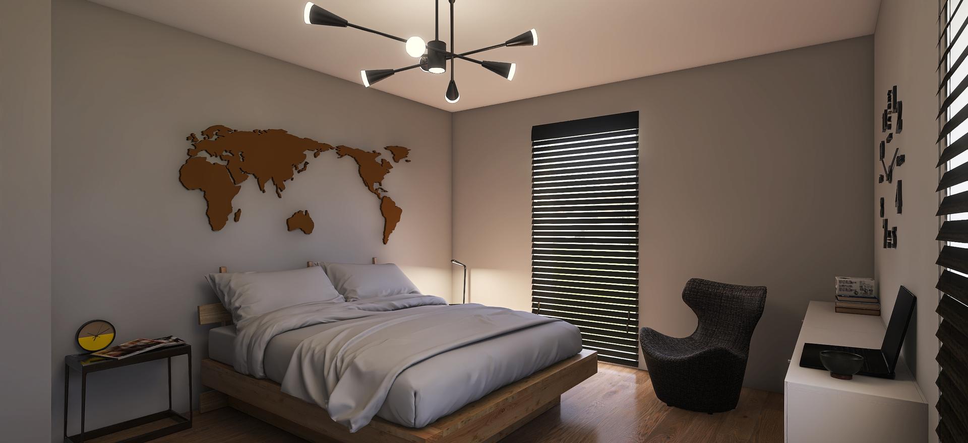 Vybavení ložnice v Omicích