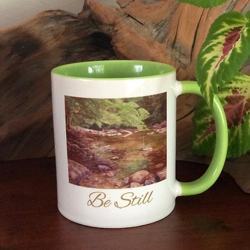 Art Mug Be Still