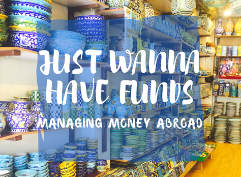 Just Wanna Have Funds - Manage Money Abroad
