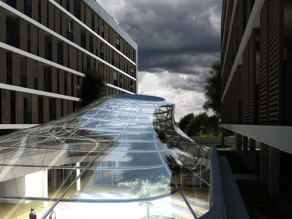 Progettazione Cohousing Complesso polifunzionale