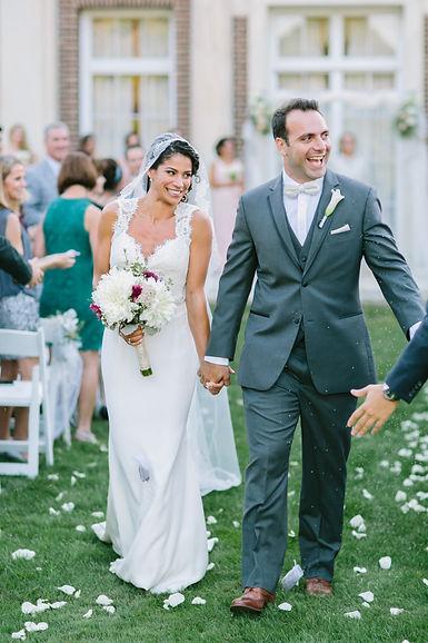 recessional, bride and groom, wedding, newlyweds, honeymoon