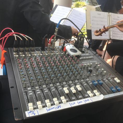 audio control board