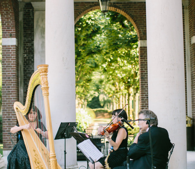 wedding music, wedding musician, music, harp, violin, flute, clarinet, sheet music, outdoor wedding, cello, string