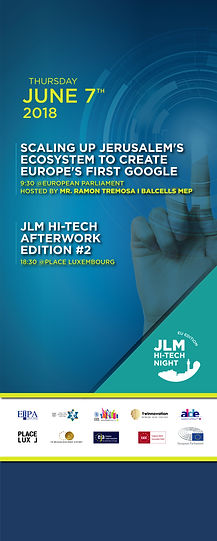 JLM Hi Tech Night event, Brussels
