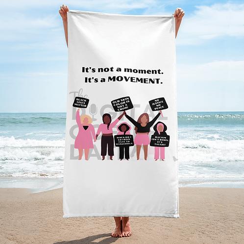 It's a Movement Towel