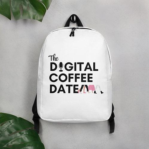 The Digital Coffee Date Minimalist Backpack