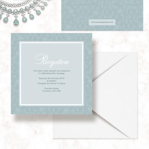 Square Indian Wedding Invitations