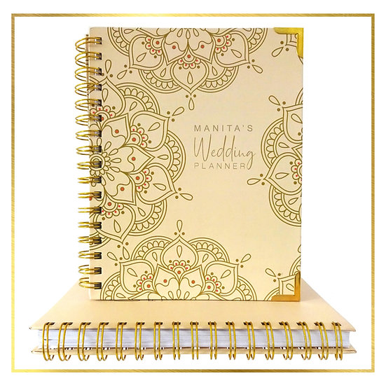 Personalised Indian Wedding Planner - Mandala