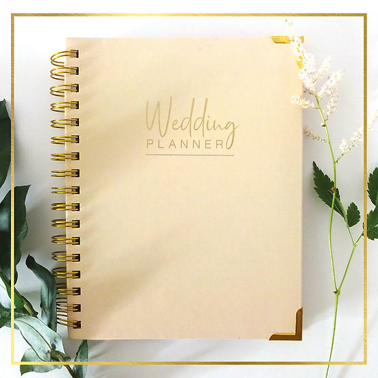 Indian Wedding Planner - Plain Cover