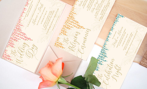 DL Indian Wedding Invitations